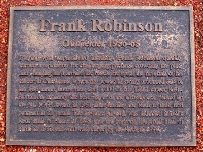 Frank Robinson Marker image. Click for full size.