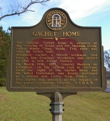 Gachet Home Marker image. Click for full size.