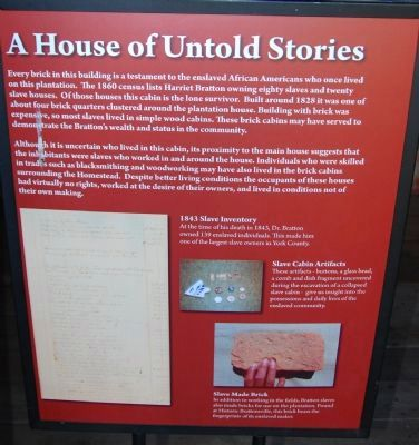 A House of Untold Stories Marker image. Click for full size.