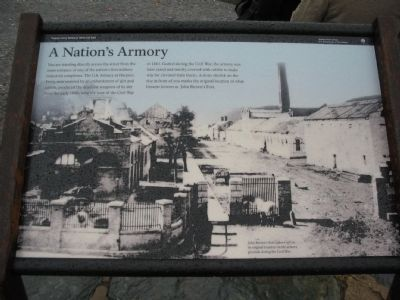 A Nation's Armory Marker image. Click for full size.