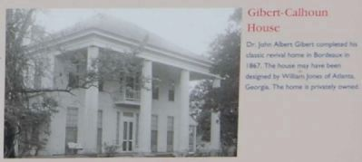 Willington Marker -<br>Gibert-Calhoun House image. Click for full size.