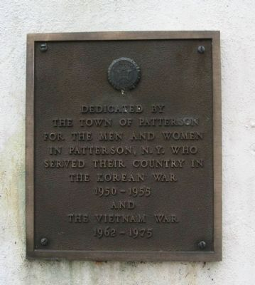 Plaque on the the East Face image. Click for full size.