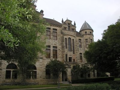 Southwestern University Main Building (Front Right) image. Click for full size.