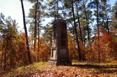 Battle of Kettle Creek Monument image. Click for full size.