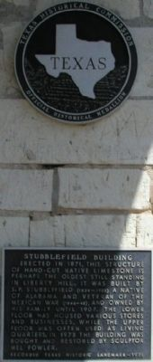 Stubblefield Building Marker image. Click for full size.