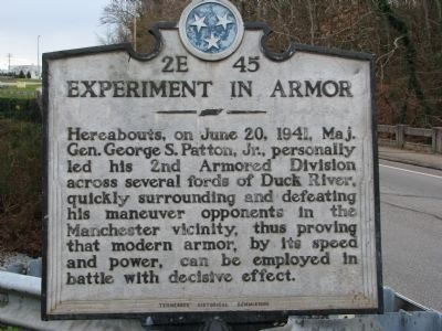 Experiment in Armor Marker image. Click for full size.