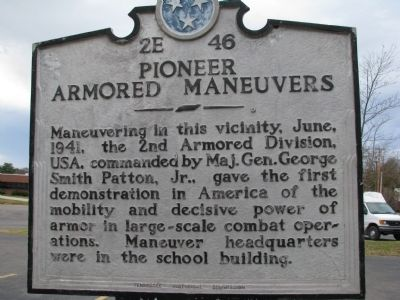 Pioneer Armored Maneuvers Marker image. Click for full size.