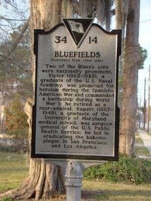 Bluefields Marker, Side Two image. Click for full size.