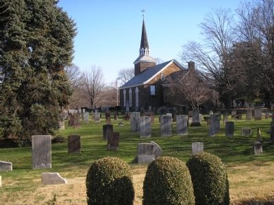 Old Paramus Reformed Churchyard image. Click for full size.