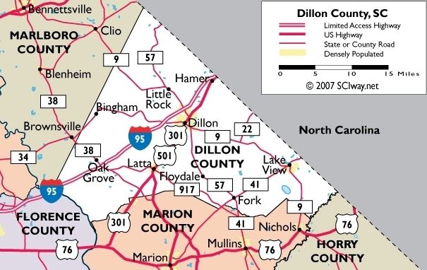 Dillon County image. Click for full size.