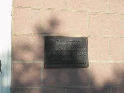 Second Van Dien House Marker image. Click for full size.