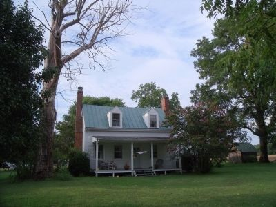 "Enroughty (""Darby"") House at First Deep Bottom Battlefield image. Click for full size."