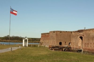 Fort Jackson image. Click for full size.
