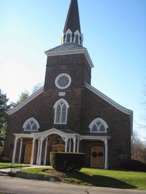 Old Paramus Reformed Church image. Click for full size.