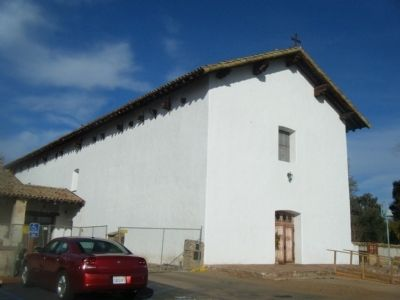 Mission San Miguel Arcangel image. Click for full size.