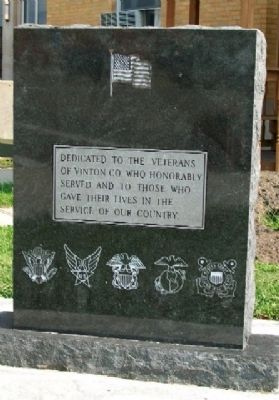 Vinton County Veterans Memorial image. Click for full size.