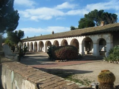 Mission San Miguel Grounds image. Click for full size.