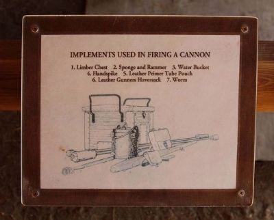 Implements Used In Firing A Cannon image. Click for full size.