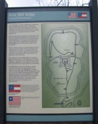 Fort Mill Ridge Marker image. Click for full size.
