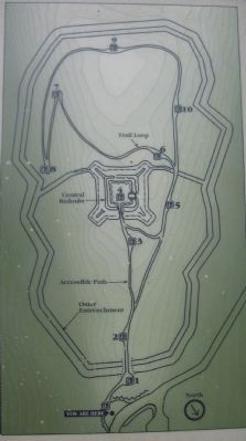 Fort Mill Ridge Trail Map image. Click for full size.