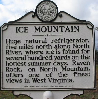 Ice Mountain Marker image. Click for full size.