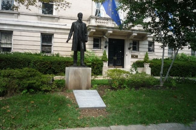 Eleftherios Venizelos Statue - Washington, D.C. image. Click for full size.