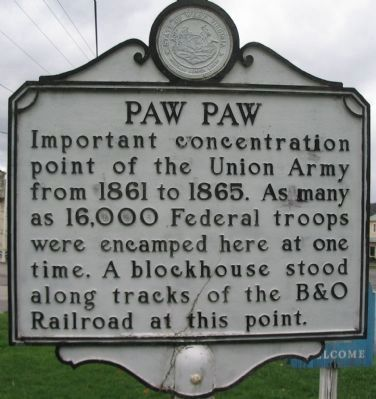 Paw Paw Marker after Maintenance image. Click for full size.