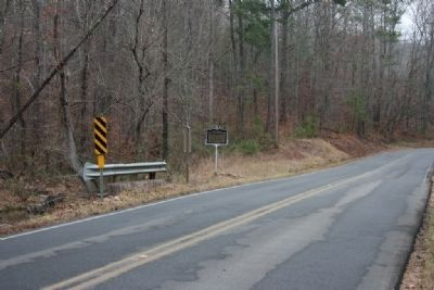 The Cahaba Heart River Of Alabama Marker On Old Springville Road image. Click for full size.
