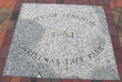 Christmas Tree Park Marker image. Click for full size.