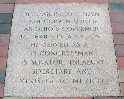 Tom Corwin Marker image. Click for full size.