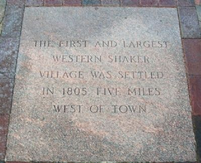 Shaker Village Marker image. Click for full size.