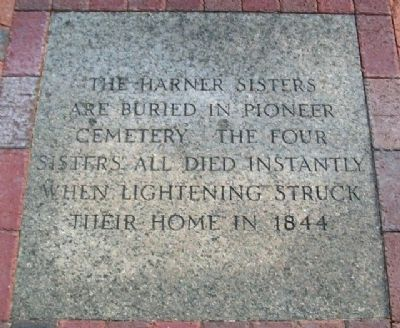 The Harner Sisters Marker image. Click for full size.