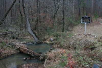 The Cahaba River & Marker image. Click for full size.