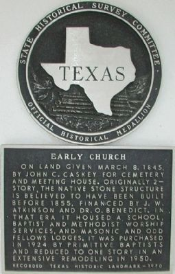 Early Church Marker image. Click for full size.