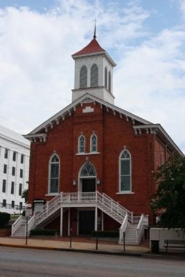 Dexter Avenue King Memorial Baptist Church image. Click for full size.