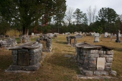 Older Grave Sites At Mount Calvary Cemetery image. Click for full size.