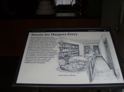 Sweets for Harpers Ferry Marker image. Click for full size.