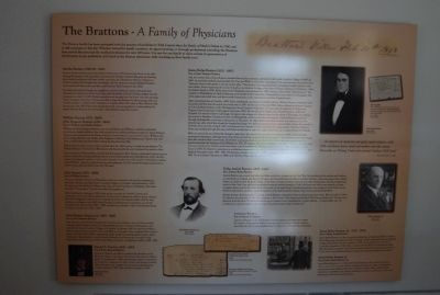 The Brattons Plaque image. Click for full size.