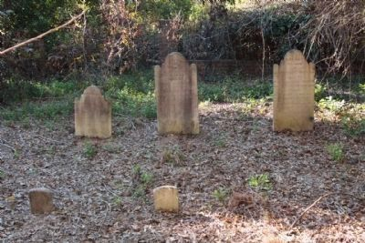 Miller Cemetery ,head and foot stones image. Click for full size.