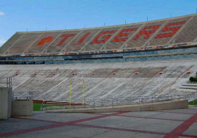 "Memorial Stadium (""Death Valley"") -<br>North Stands image. Click for full size."