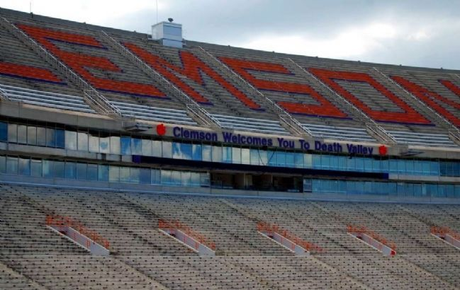 "Memorial Stadium (""Death Valley"") -<br>South Stands image. Click for full size."