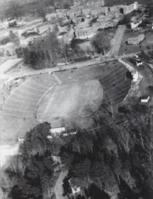 Clemson Memorial Stadium Arial View image. Click for full size.