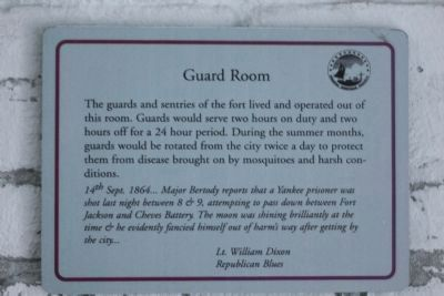 Republican Blues Gaurd room image. Click for full size.