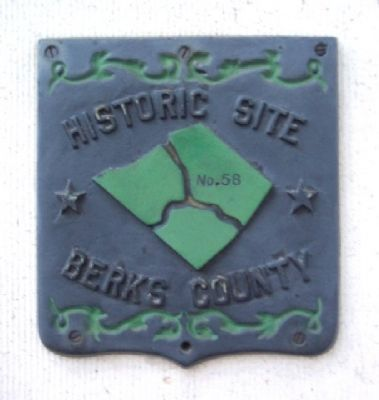 Representative Berks County Historic Site Marker image. Click for full size.