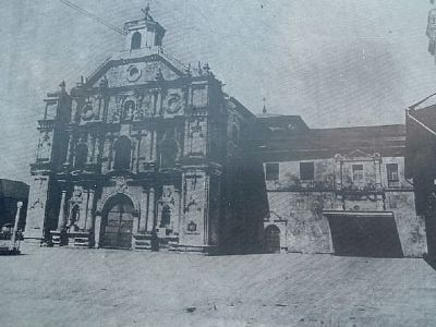 San Francisco Church and Convent image. Click for full size.
