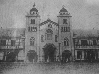 Lourdes Church and Convent image. Click for full size.