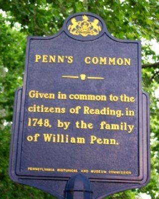 Penn's Common Marker image. Click for full size.