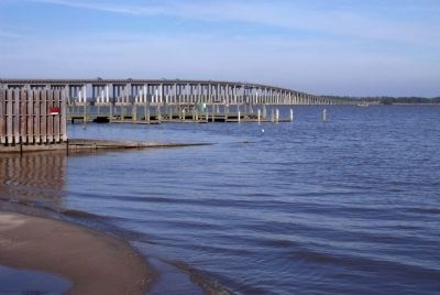 Rappahannock River Bridge image. Click for full size.