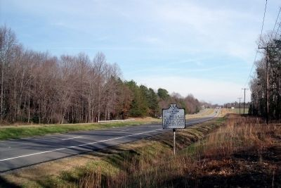 Richmond Tappahannock Highway (facing east) image. Click for full size.