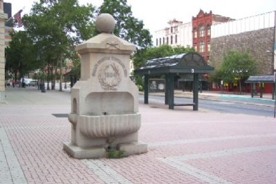 Woman's Christian Temperance Union Drinking Fountain image. Click for full size.